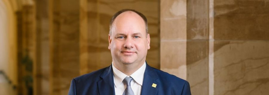 Mayor of Dresden  - Dirk Hilbert